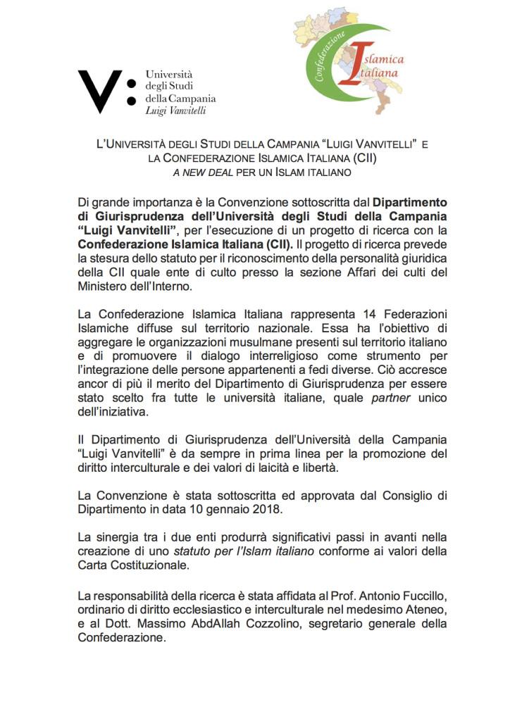 Comunicato Convenzione CII-1-1