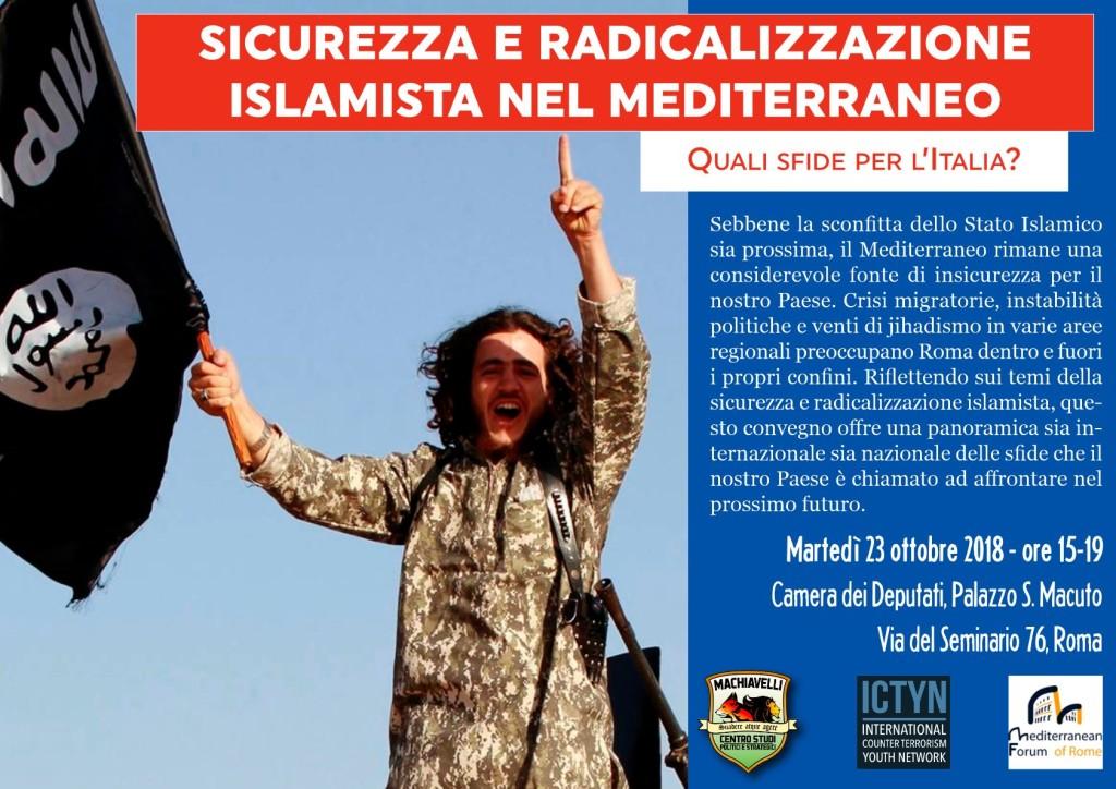 2018.10.23 - Sicurezza e radicalizzazione islamista nel Mediterraneo 1