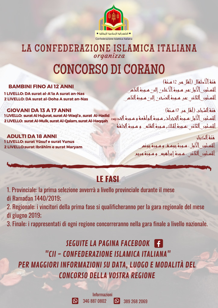 LA CONFEDERAZIONE ISLAMICA ITALIANA PRESENTApng