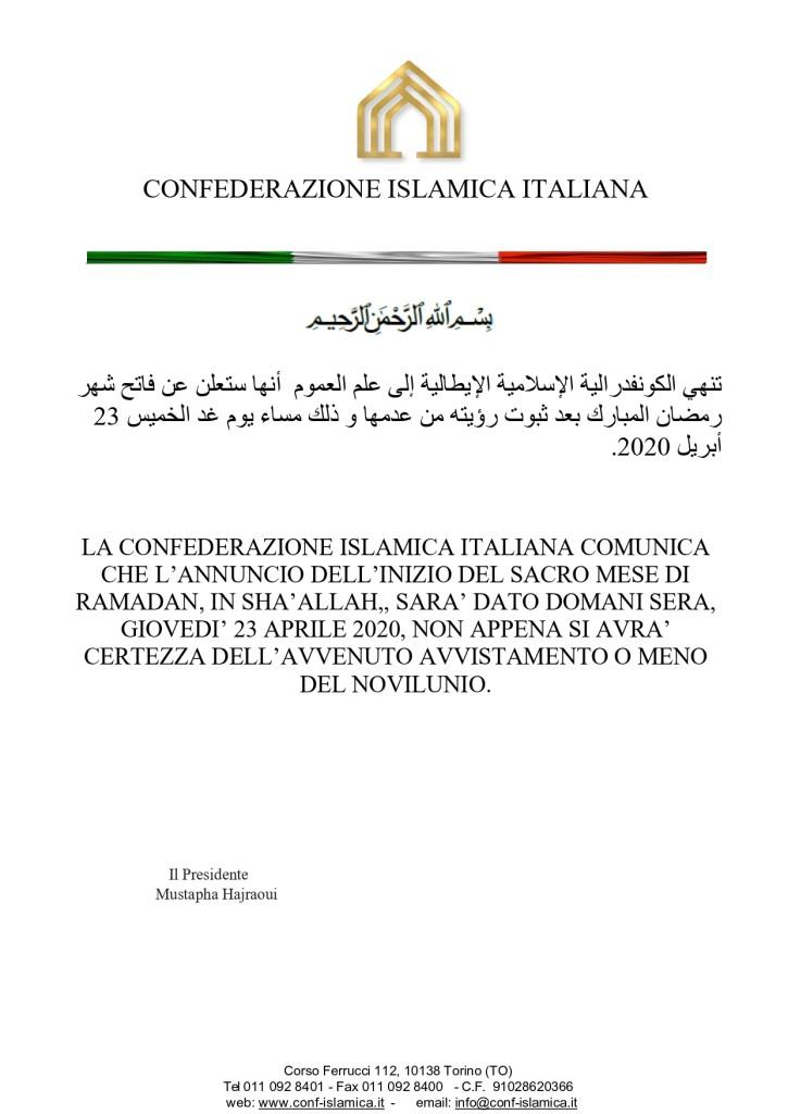 Comunicato Ramadan 2020_page-0001